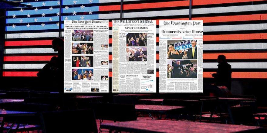 ABD basını seçim sonuçlarını Trump için mağlubiyet gördü