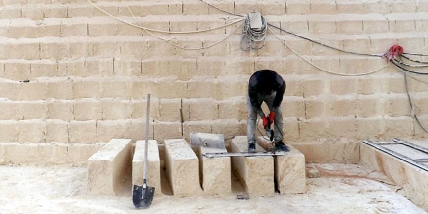 Şanlıurfa'da camilerin estetiği nahit taşıyla korunacak