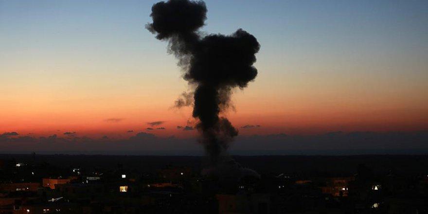 İşgalci İsrail Gazze'de yıkım başlattı