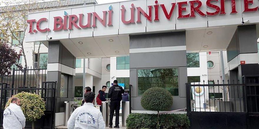 Üniversitede oksijen tüpü kazası