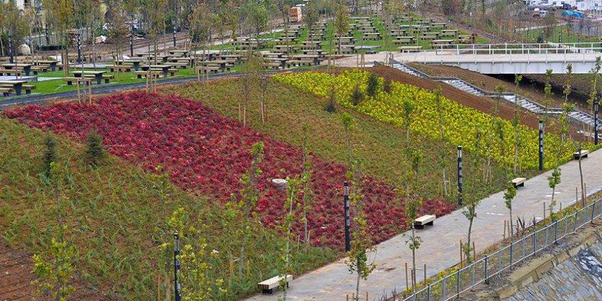 İstanbul Kayaşehir'de millet bahçesi yapılıyor