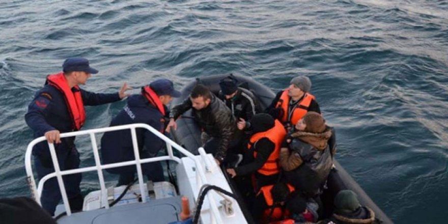 Göçmen faciası son anda önlendi