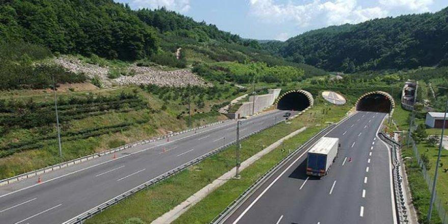 Bolu Dağı Tüneli'nin Ankara yönü 20 gün kapalı olacak