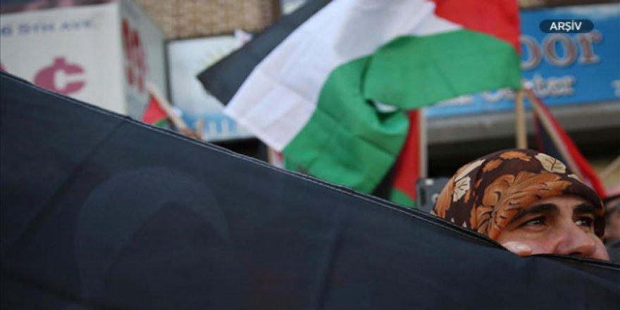 İşgalci İsrail New York'ta protesto edildi