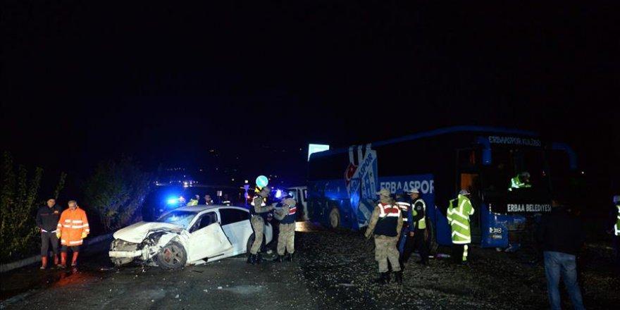 Tokat'tan üzücü haber: Genç doktor kazada vefat etti