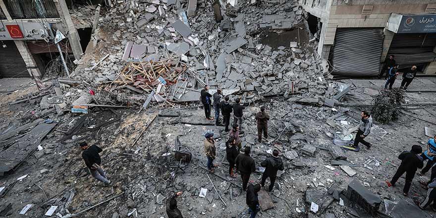 İşgalci İsrail'in son Gazze saldırısının geride bıraktığı yıkım