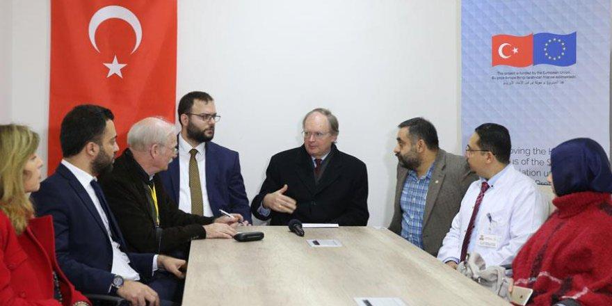 Berger: Suriye'de siyasi çözüm için Türkiye ile AB hemfikir