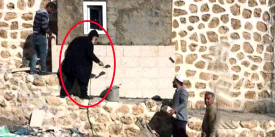 Süryani Rahip, cami tadilatına yardım ettti