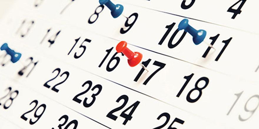 2019 yılının resmi tatil günleri belli oldu