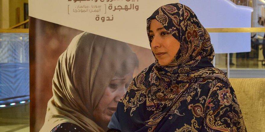 Nobel Ödüllü aktivistten çağrı: Yemen savaşına son verin