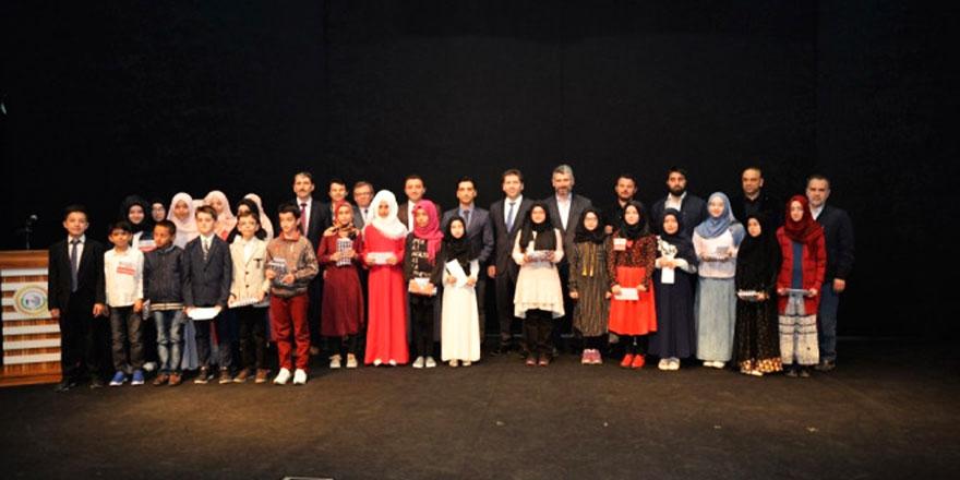 40 Hadis ezberleme yarışması düzenlendi