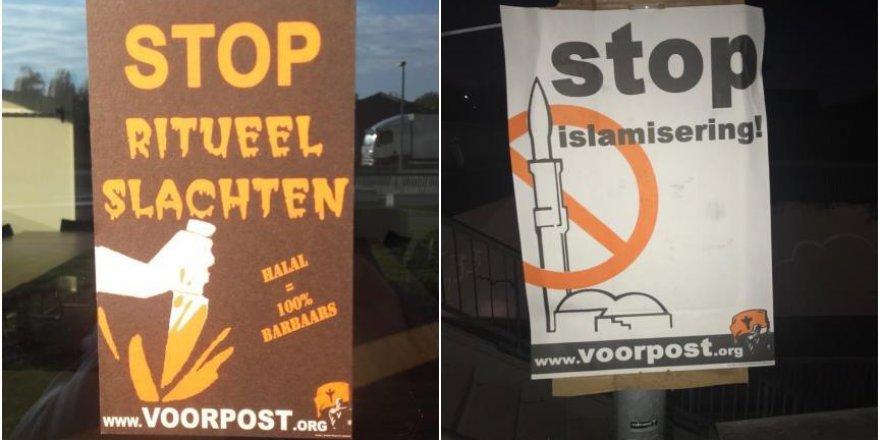 Hollanda'da camiye İslamofobik saldırı yapıldı