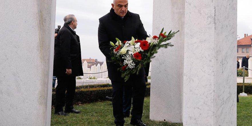 Bakan Ersoy: Bosna Hersek'in, AB ve NATO'ya girmesini hararetle destekliyoruz
