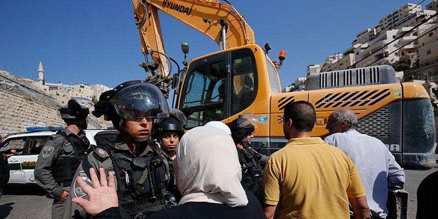 İşgalci İsrail, Filistinli aileleri sürgün etme hazırlığında