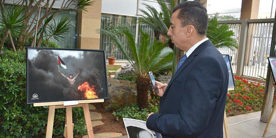 Anadolu Ajansı'nın fotoğrafları Filistin'de