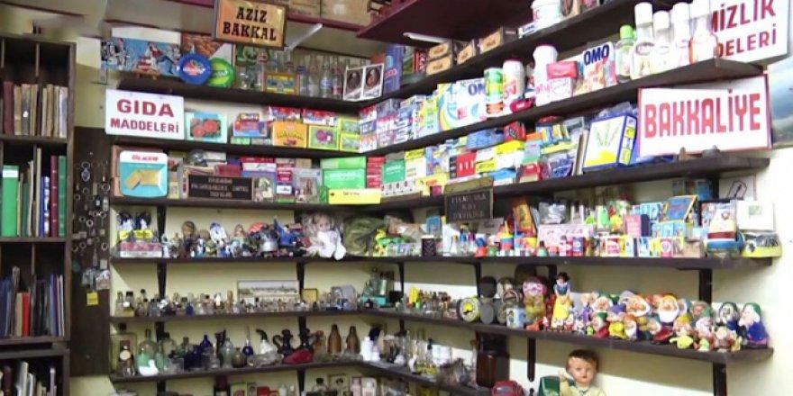 Eskinin klasik bakkal dükkanları Bursa'da yeniden yaşatılıyor