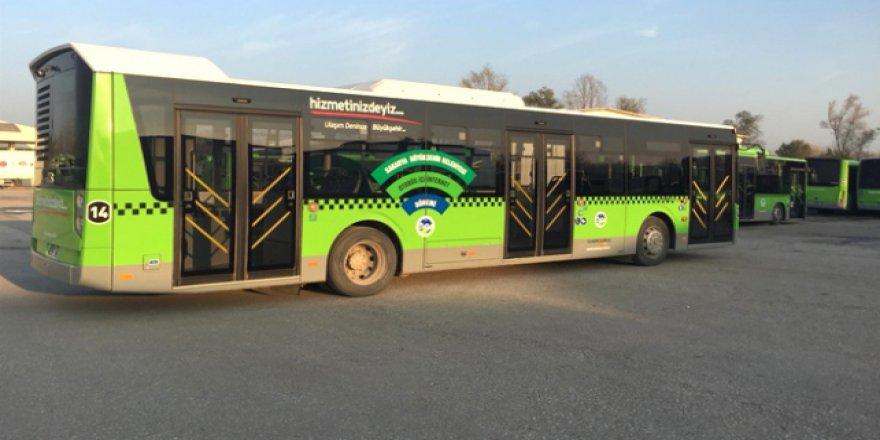 Sakaryalılar otobüslerde de 'çevrimiçi' olacaklar