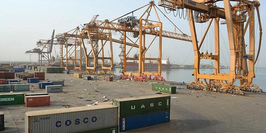 'Hudeyde limanındaki faaliyetler yarıya indi'