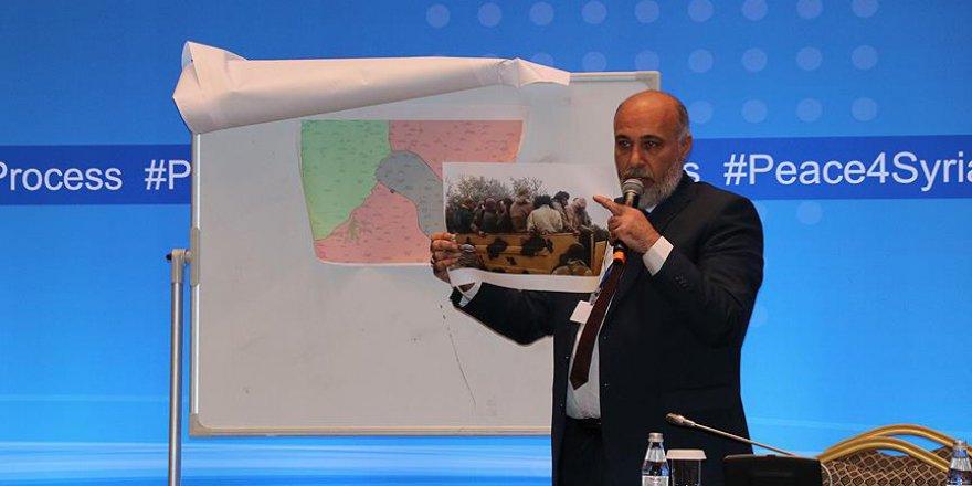'Rejim Astana'nın gündemini değiştirmeye çalışıyor'