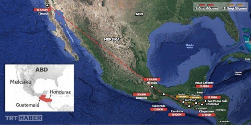 ABD sınırında bekleyenlerin sayısı 9 bin