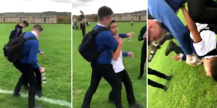 İngiltere'de mülteci çocuğa saldıran öğrenciye nefret suçu soruşturması