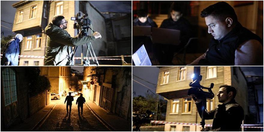 Gece haberlerinin görünmeyen kahramanları