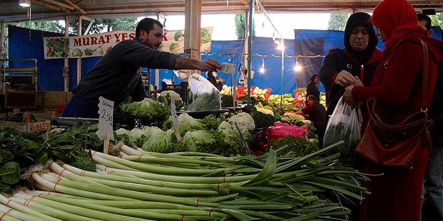 Köylü pazarında yörede yetişmeyen ürünleri satmak yasak