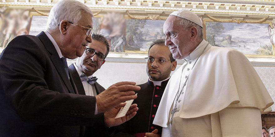 Abbas ve Papa, Orta Doğu'yu konuştu