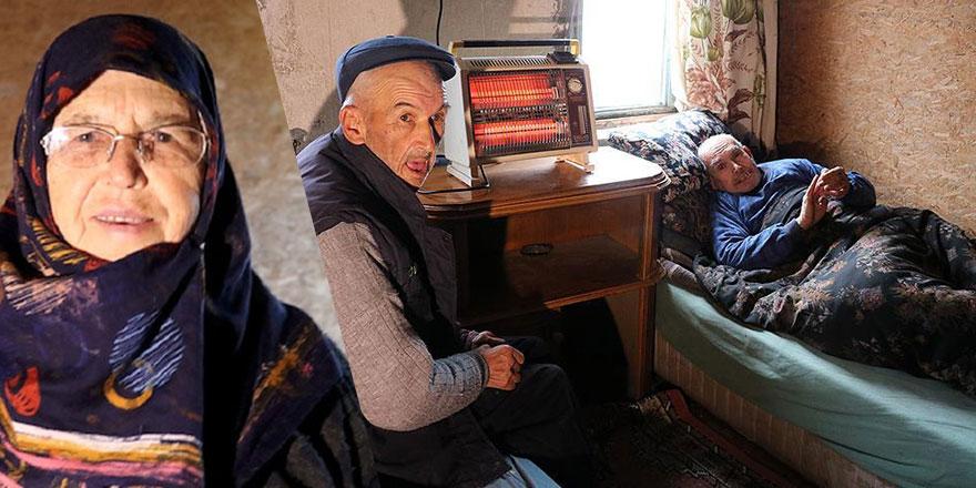 69 yıldır bedensel ve zihinsel engelli kardeşlerine bakıyor