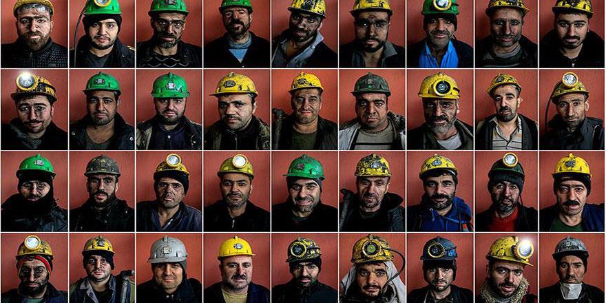 Madenciler rızık için yer altında çalışıyor