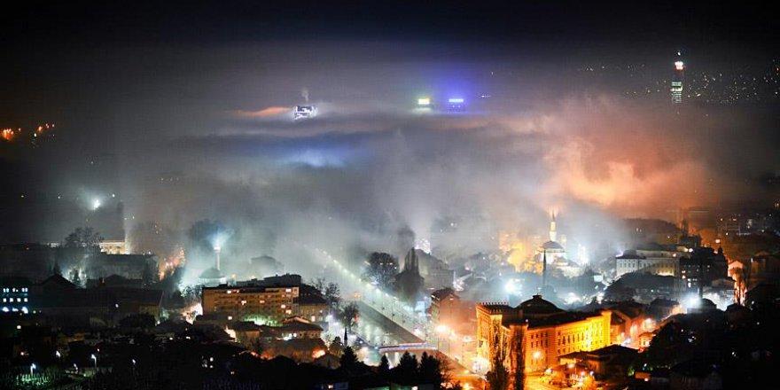 Saraybosna'nın havası solunamayacak derecede pis