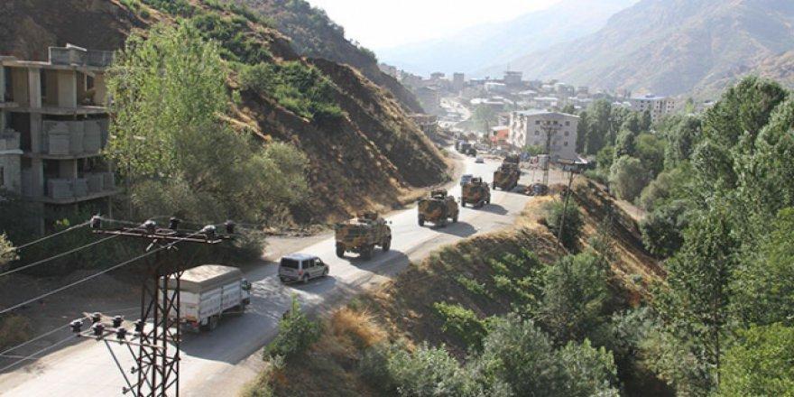 Hakkari'de 15 gün sürecek özel güvenlik bölgesi uygulaması