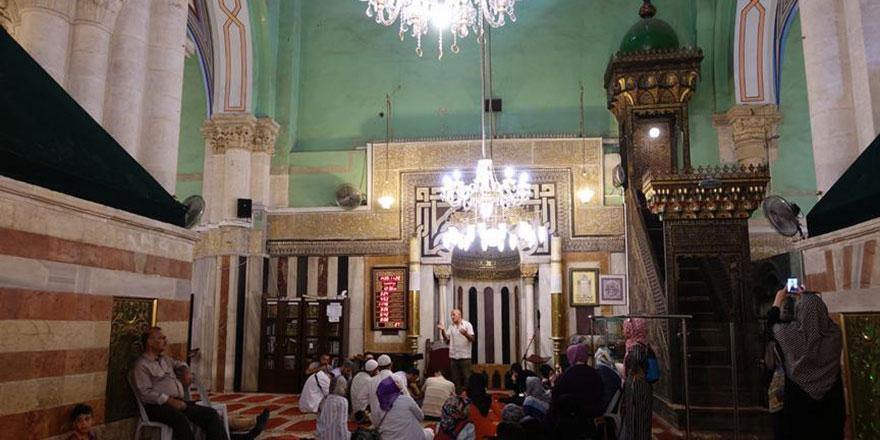 UNESCO'ya işgal altındaki camiyi koruyun çağrısı