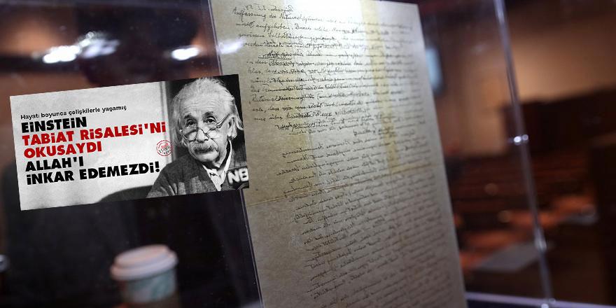 Einstein'ın Allah'ı inkar eden mektubu rekor fiyatla satıldı