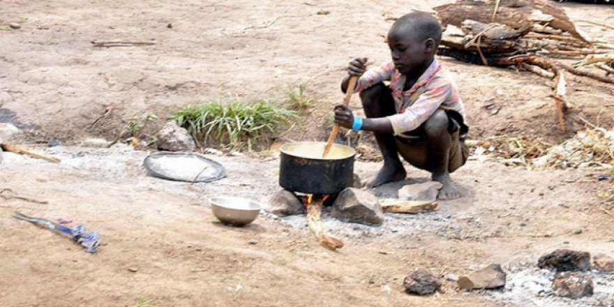 Nijerya'da 35 milyon çocuk açlıkla boğuşuyor