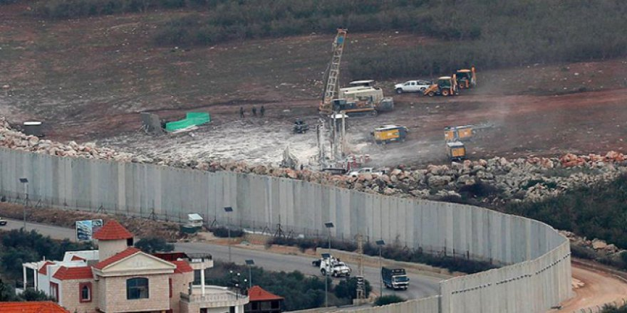 Lübnan sınırında İsrail hareketliliği sürüyor