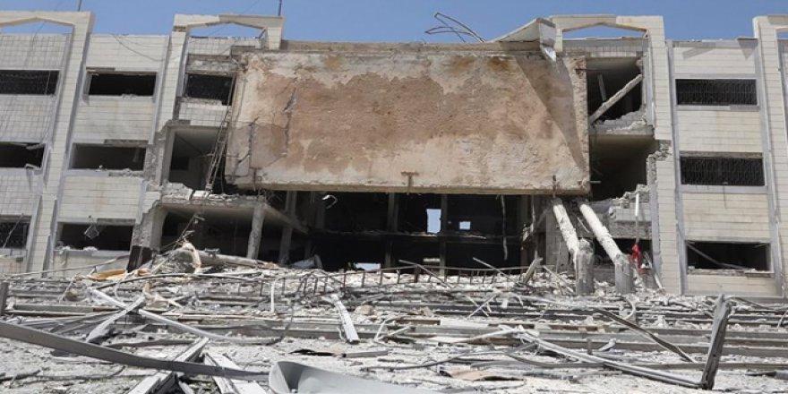 Beşşar Esed Rejimi yaşam merkezlerine ölüm yağdırıyor