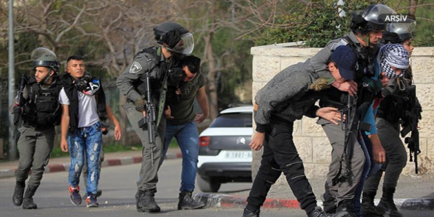 İşgalci İsrail'den 21 Filistinliye gözaltı kararı