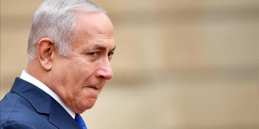 İşgalcilerin lideri Netanyahu Lübnan sınırına geldi