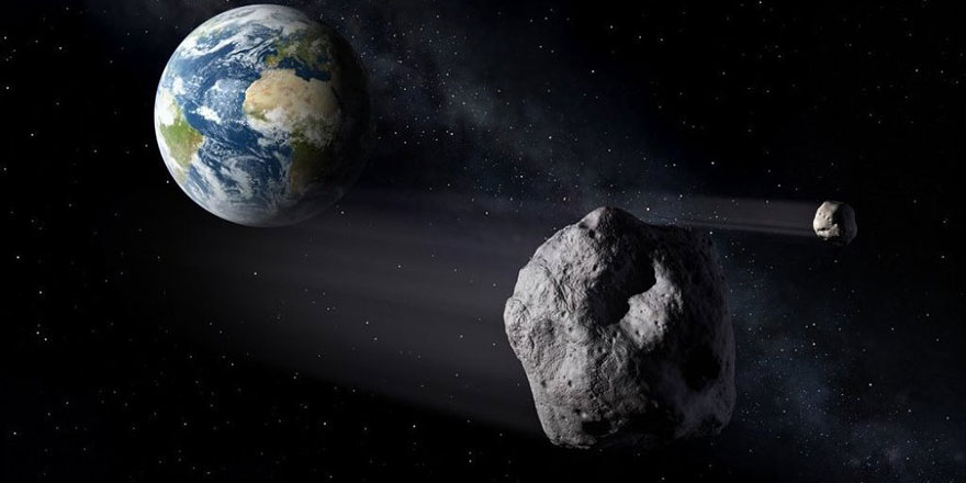 2068 yılında üç futbol sahası büyüklüğünde bir asteroid, Dünya'ya çarpabilir