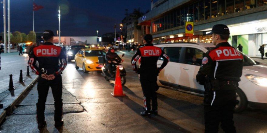 İstanbul'da 39 ilçede asayiş uygulaması