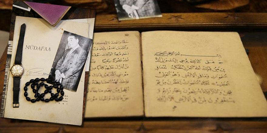 Menderes'in hatıraları satılıyor: Tespihi, saati ve idama giderken okunan Kur'an