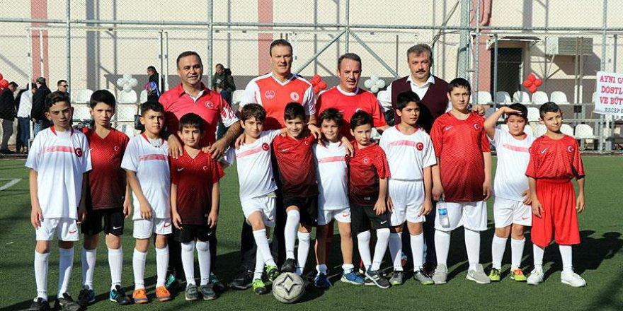Türk ve Suriyeli öğrenciler futbolla yakınlaştı