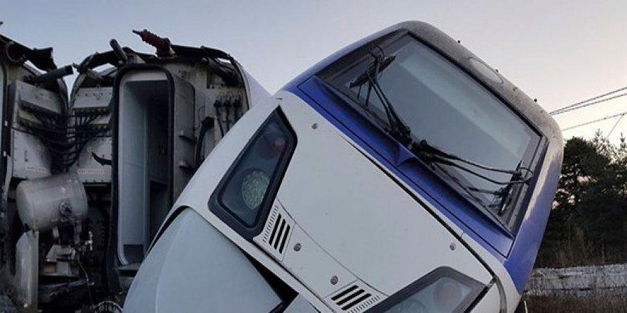 Güney Kore'de yüksek hızlı tren raydan çıktı