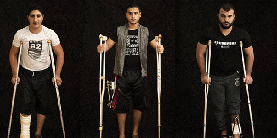 İsrail askerleri Filistinlileri sakat bırakmak için ateş açıyor
