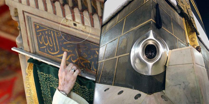 Türkiye'de Hacerü'l-Esved parçaları bulunan camiler