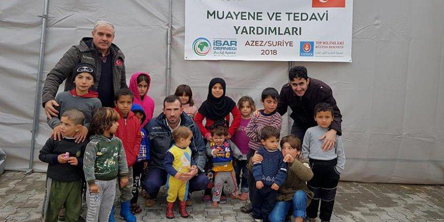 Hayrat Yardım, Azez'e yardım eli uzattı