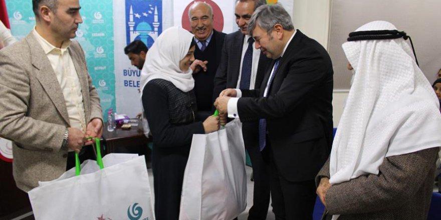 Ürdünlü öğrencilere Türkiye'den kırtasiye ve giyecek yardımı
