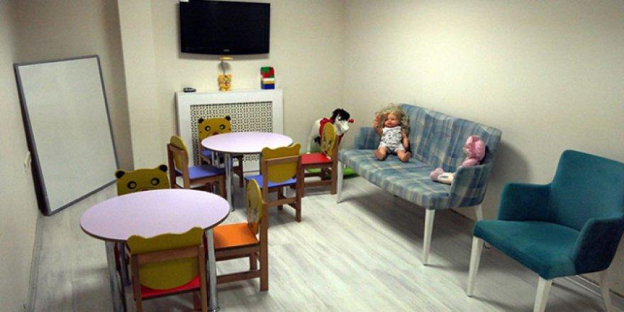 Mağdur çocuklar hayata Çocuk İzlem Merkezinde hazırlanıyor