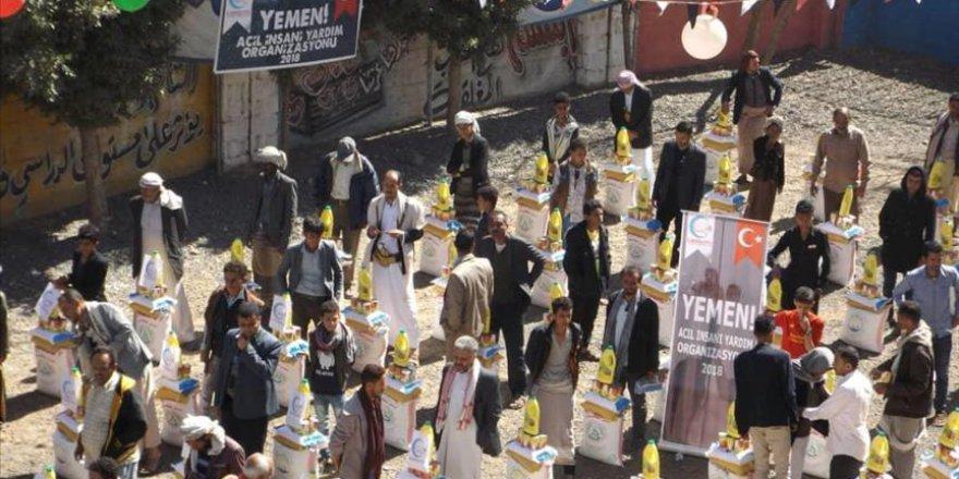 Cansuyu Derneğinden Yemen'e gıda yardımı